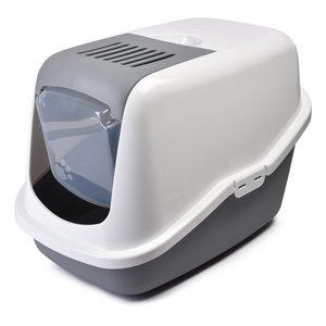 Туалет д/кошек NESTOR белый/светло-серый 0227-00WG 62625