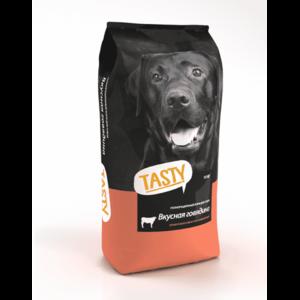 Tasty, сухой корм для собак с говядиной (2,2 кг 15 кг)