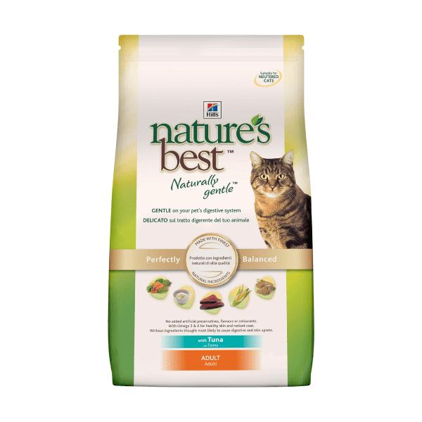 Hill's Nature's Best натуральный сухой корм для кошек с тунцом 2 кг