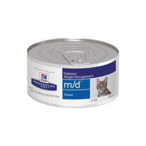 Влажный диетический корм для кошек Hill's Prescription Diet m/d Diabetes/ при сахарном диабете, 156 г