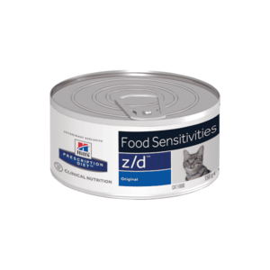 Влажный диетический корм для кошек Hill's Prescription Diet z/d Food Sensitivities при пищевой аллергии, 156 г