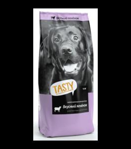 Tasty, сухой корм для собак с ягненком (2,2 кг 15 кг)
