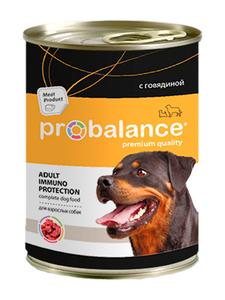 Pro Balance Immuno Adult, для собак, консервы, говядина