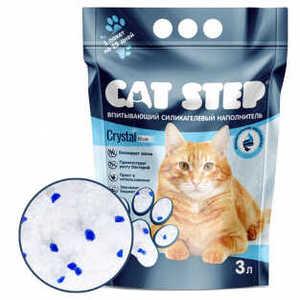 """Наполнитель для кошачьих туалетов """"Cat Step"""", силикагель, 3л, 7.6л, 15.2л"""