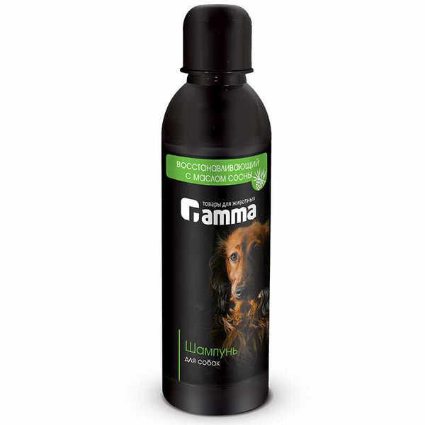 """Шампунь """"Гамма"""" для собак восстановительный с проблемной кожей с маслом сосны"""