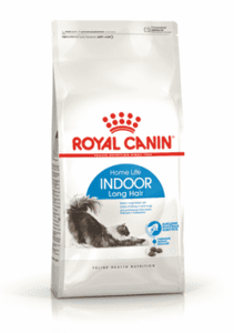 Royal Canin, Indoor Long Hair, для кошек с длинной шерстью живущих в помещении