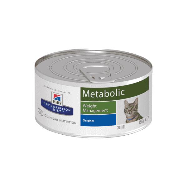 Влажный диетический корм для кошек Hill's Prescription Diet Metabolic  способствует снижению и контролю веса, 156 г