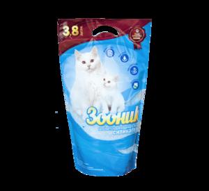 Зооник наполнитель силикагель для кошек (5; 20 л)