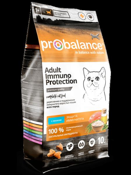 Pro Balance Immuno сухой корм для кошек с лососем (10 кг)