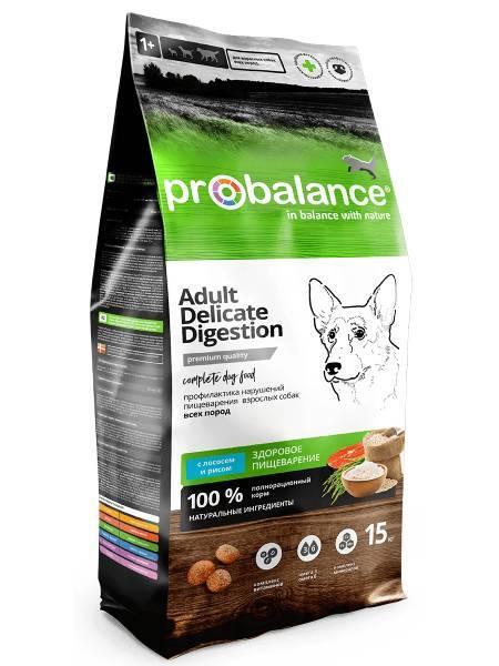 Pro Balance Delicate Digestion, сухой корм для собак с лососем и рисом (15 кг.)