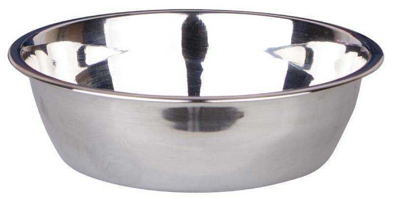 Dezzie Миска для собак, металл 350мл, 14,2*4см.