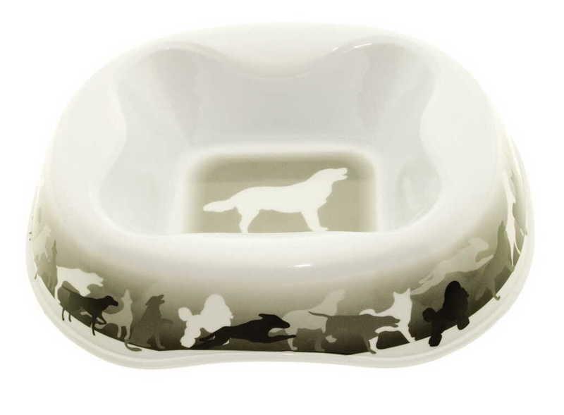 Dezzie Миска для собак, 400, 600, 800 мл пластик