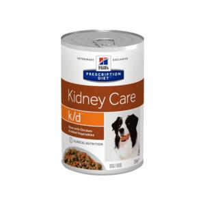 Hill's Prescription Diet k/d Рагу, влажный корм для собак при лечении заболеваний почек, с курицей и добавлением овощей 354 г