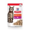 Влажный корм Hill's Science Plan для взрослых кошек для поддержания жизненной энергии и иммунитета, пауч с говядиной в соусе, 85 г