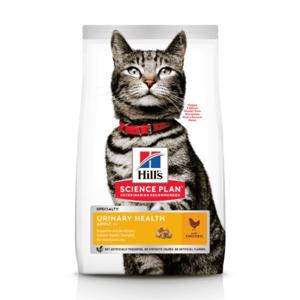 Сухой корм Hill's Science Plan Urinary Health для взрослых кошек, склонных к мочекаменной болезни, с курицей (0,3 кг 1,5 кг 7 кг).