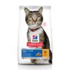 Сухой корм Hill's Science Plan Oral Care для взрослых кошек, способствует удалению зубного камня, с курицей, 1,5 кг.