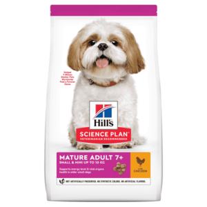 Hill's Science Plan сухой корм для пожилых собак (7+) мелких пород для поддержания иммунитета, с курицей (0,3 кг 1,5 кг).