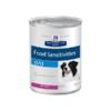 Влажный диетический корм для собак Hill's Prescription Diet d/d Food Sensitivities при пищевой аллергии, с уткой 370 г