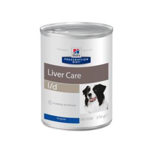 Влажный диетический корм для собак Hill's Prescription Diet l/d Liver Care при заболеваниях печени, 370 г