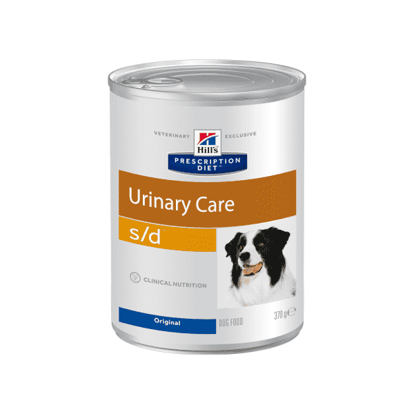 Влажный диетический корм для собак Hill's Prescription Diet s/d Urinary Care при профилактике мочекаменной болезни (мкб),  370 г