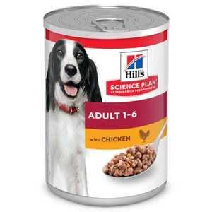 Hill's Science Plan ADVANCED FITNESS  консервы для взрослых собак, для поддержания мускулатуры, курица 370 г.