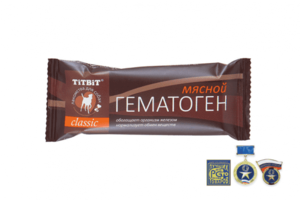 TITBIT, лакомства для собак гематоген мясной classic