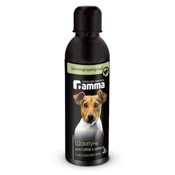 Шампунь для собак и щенков антипаразитный с экстрактом трав