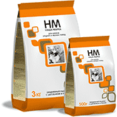 Наша марка, сухой корм для щенков мелких и средних пород с цыпленком и рисом (500 г, 12 кг, 18 кг)