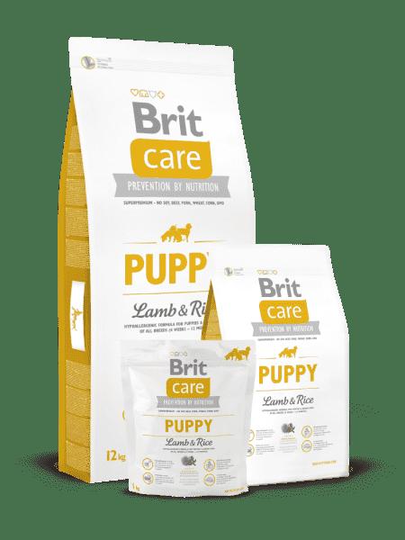 Brit Care Pappy all Breed для щенков и молодых собак всех пород  с ягненком и рисом
